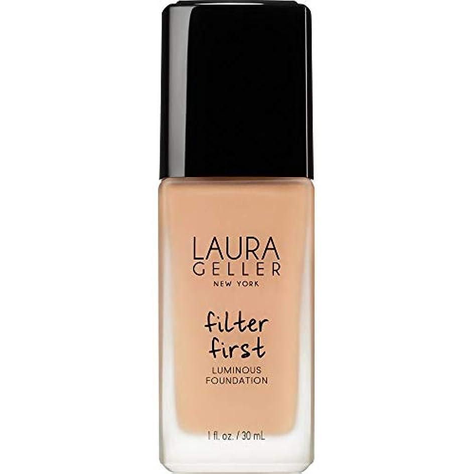 しみ身元ケープ[Laura Geller ] ローラ?ゲラーは、最初の発光基盤の30ミリリットルのベージュをフィルタリング - Laura Geller Filter First Luminous Foundation 30ml Beige...