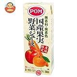 POM 国産果実野菜ジュース 200ml ×24本