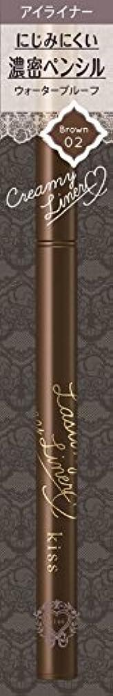 仮定奨励ペッカディロキス ラスティングクリーミィライナー02 ブラウン 0.12g