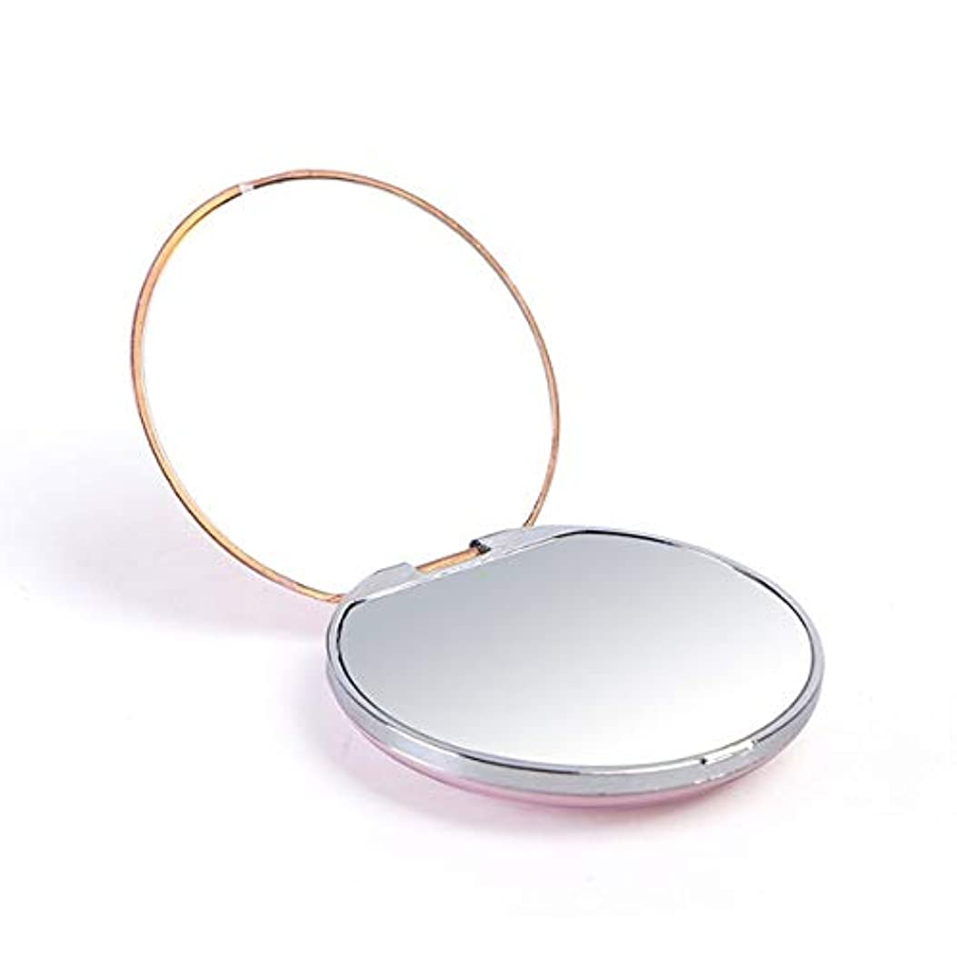 助けになる不合格レクリエーション化粧鏡、亜鉛合金テクスチャアップグレード化粧鏡化粧鏡化粧ギフト