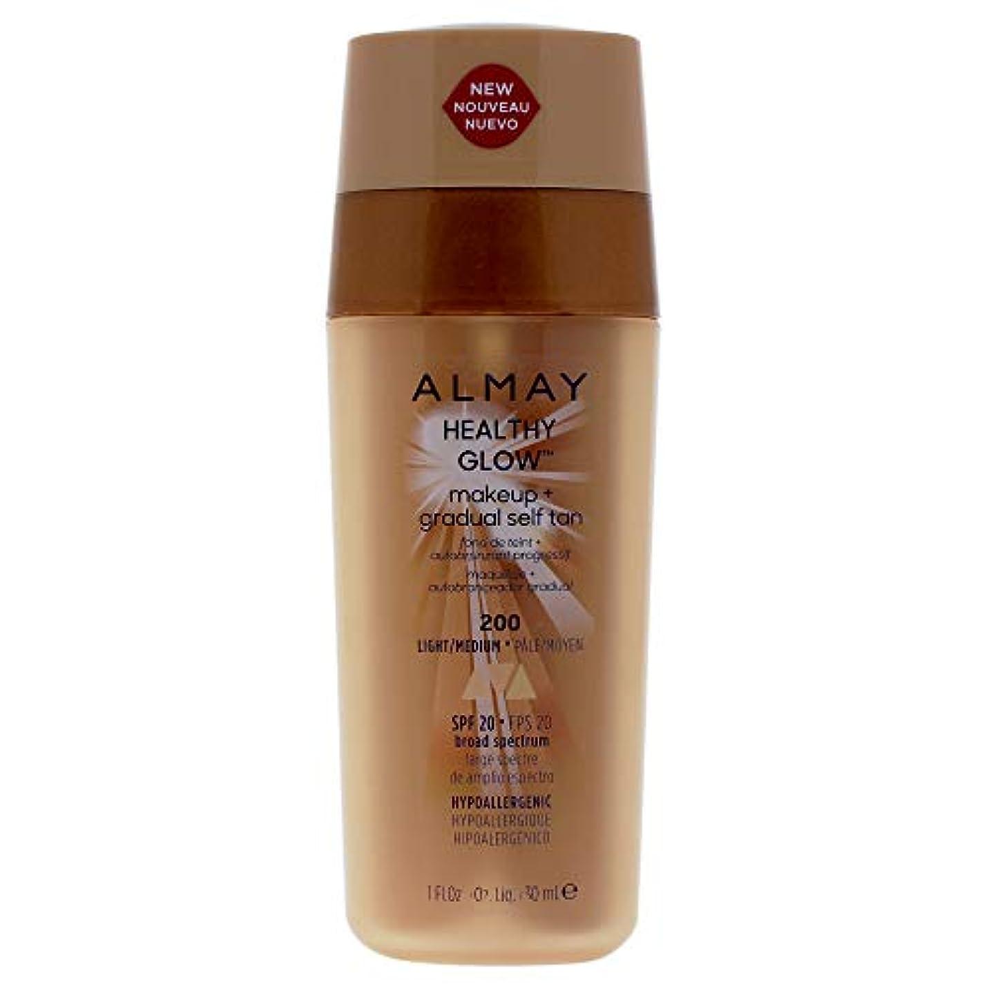 気分考古学的なセントAlmay Healthy Glow Makeup & Gradual Self Tan, Light/Medium