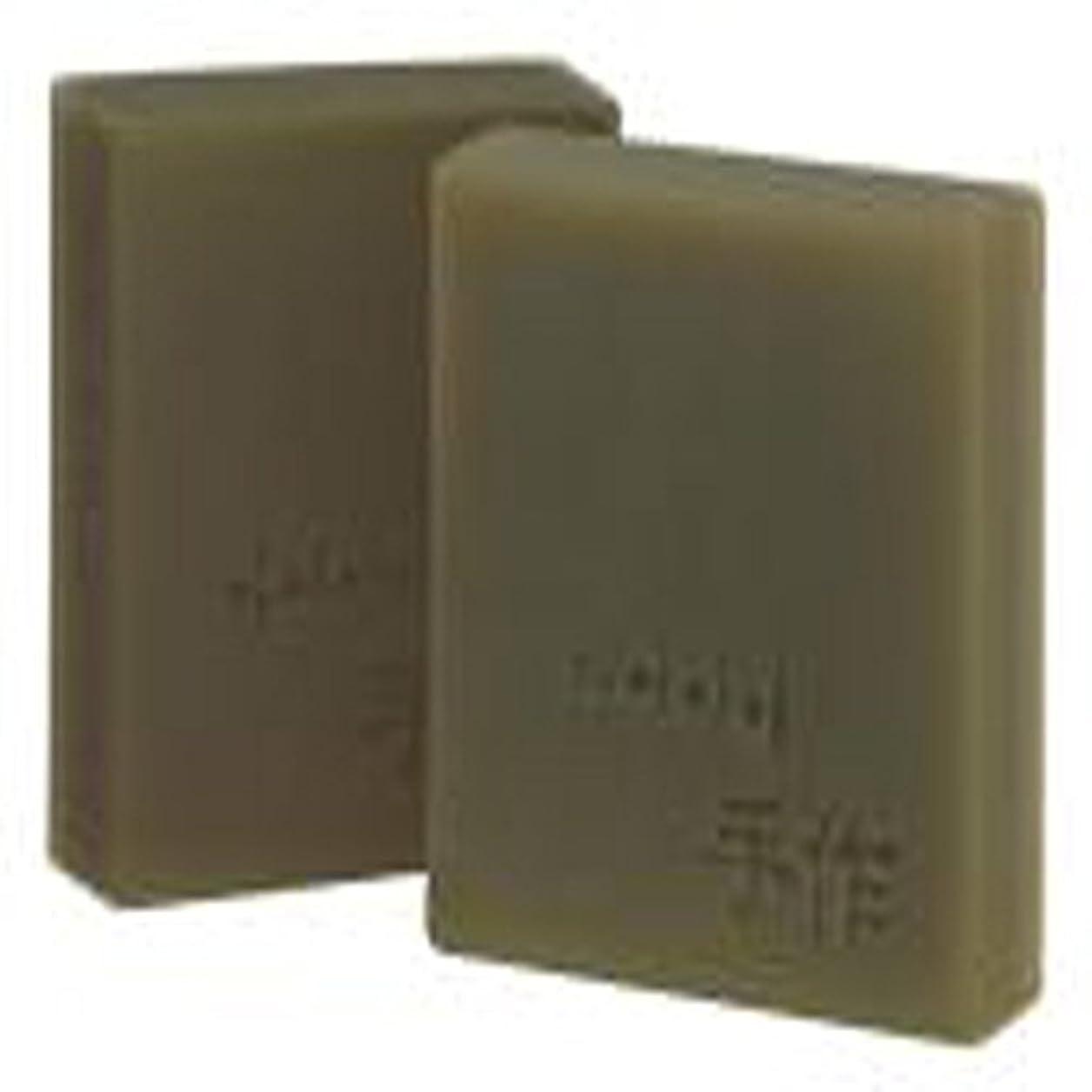 設置国際クレーターNatural organic 有機天然ソープ 固形 無添加 洗顔せっけんクレンジング 石鹸 [並行輸入品] (緑豆)