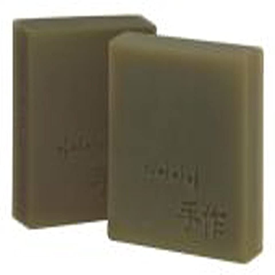ナプキン競うサイズNatural organic 有機天然ソープ 固形 無添加 洗顔せっけんクレンジング 石鹸 [並行輸入品] (緑豆)