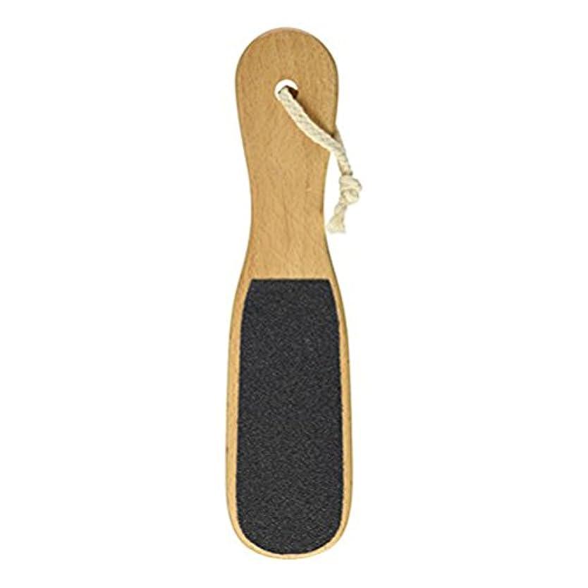エンターテインメント代数磁気Supvox フットスクラバースキン剥離ブナ木材剥離ボディブラシクリーナー1個