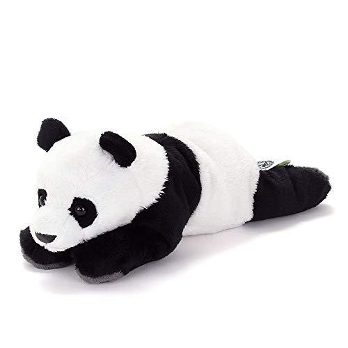 カロラータ ジャイアントパンダ ぬいぐるみ 動物 (ねそべりシリーズ) 15cm×11cm×25cm
