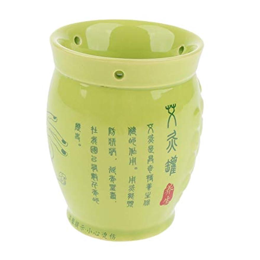 巻き取り捨てる指全身マッサージ カッピングカップ 缶 ポット お灸 中国式 セラミック 健康ケア
