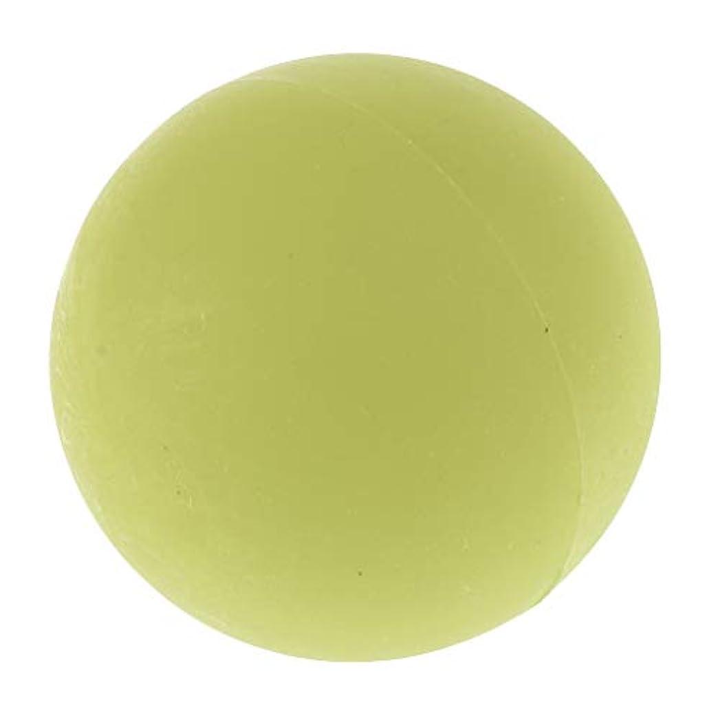 立派なロケット学者chiwanji エクササイズ 筋膜リリース マッサージボール トレーニングボール ソフトボール ツボ押しグッズ 全4色 - 緑