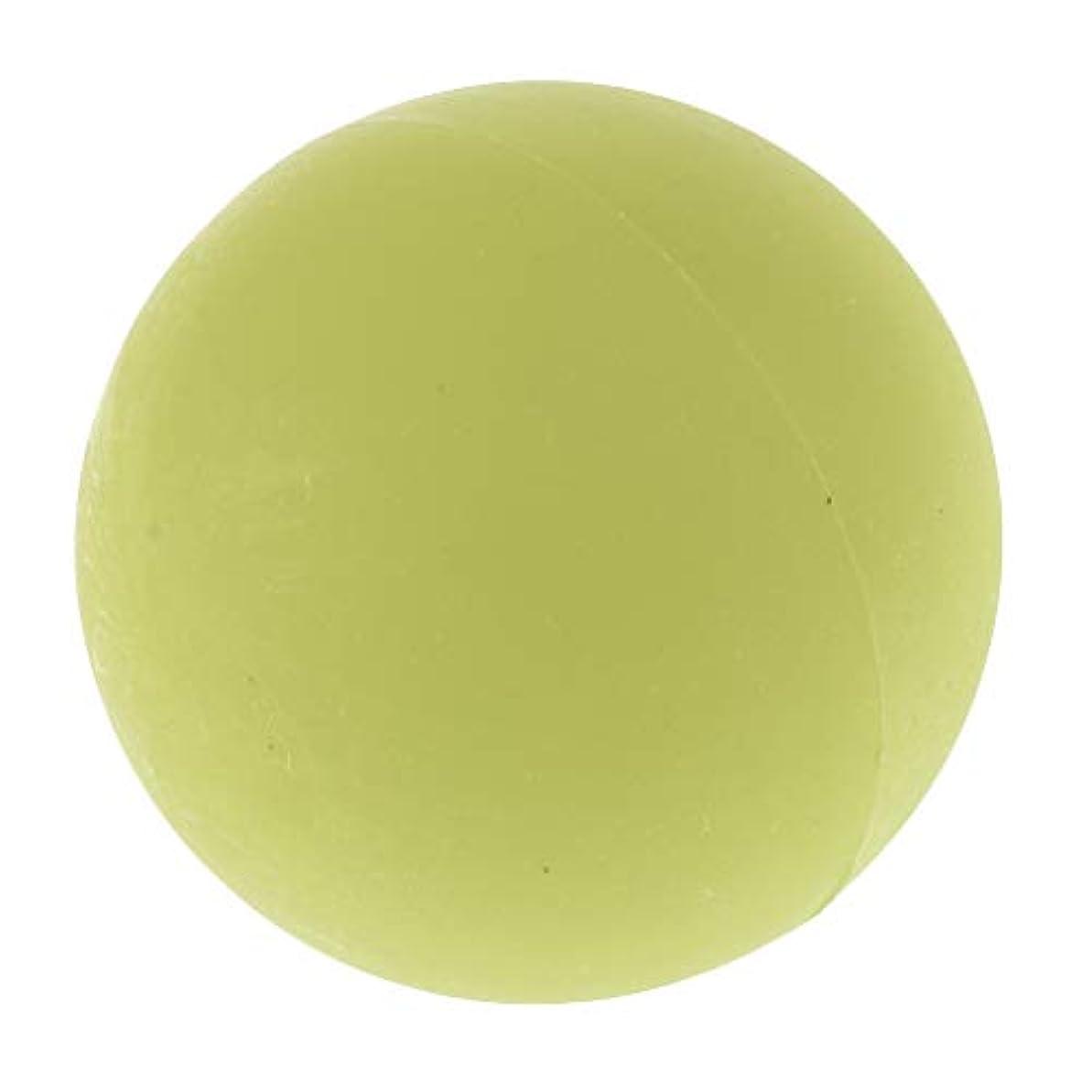 衛星光景広告chiwanji エクササイズ 筋膜リリース マッサージボール トレーニングボール ソフトボール ツボ押しグッズ 全4色 - 緑