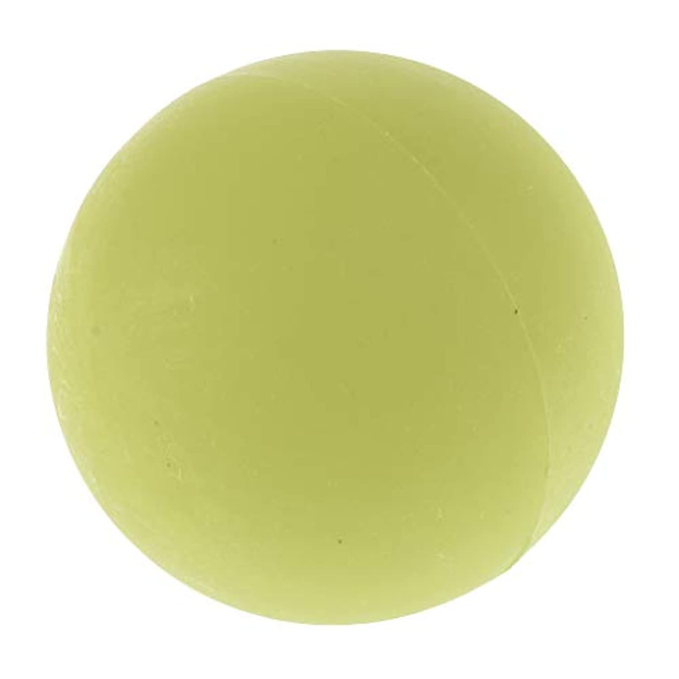 公使館真面目なドアchiwanji エクササイズ 筋膜リリース マッサージボール トレーニングボール ソフトボール ツボ押しグッズ 全4色 - 緑
