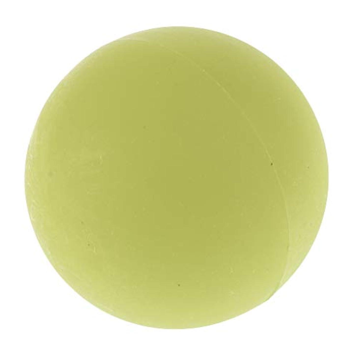 恐竜セーブ祖母エクササイズ 筋膜リリース マッサージボール トレーニングボール ソフトボール ツボ押しグッズ 全4色 - 緑