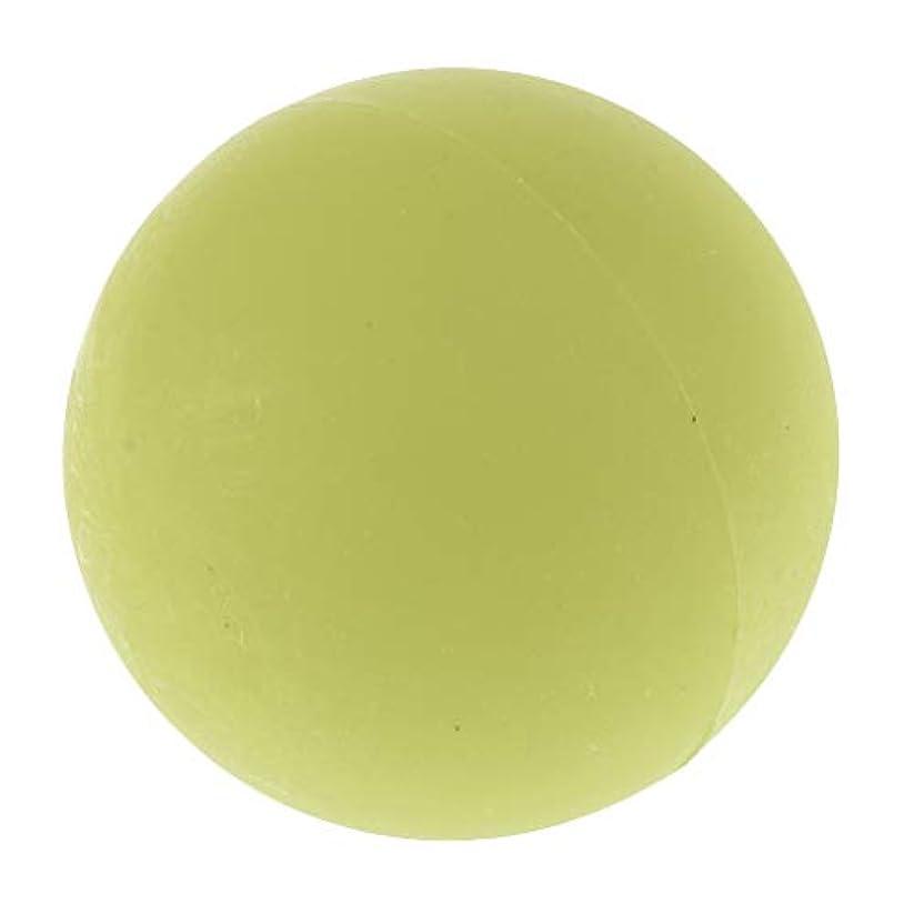 モッキンバード徐々に変換するエクササイズ 筋膜リリース マッサージボール トレーニングボール ソフトボール ツボ押しグッズ 全4色 - 緑