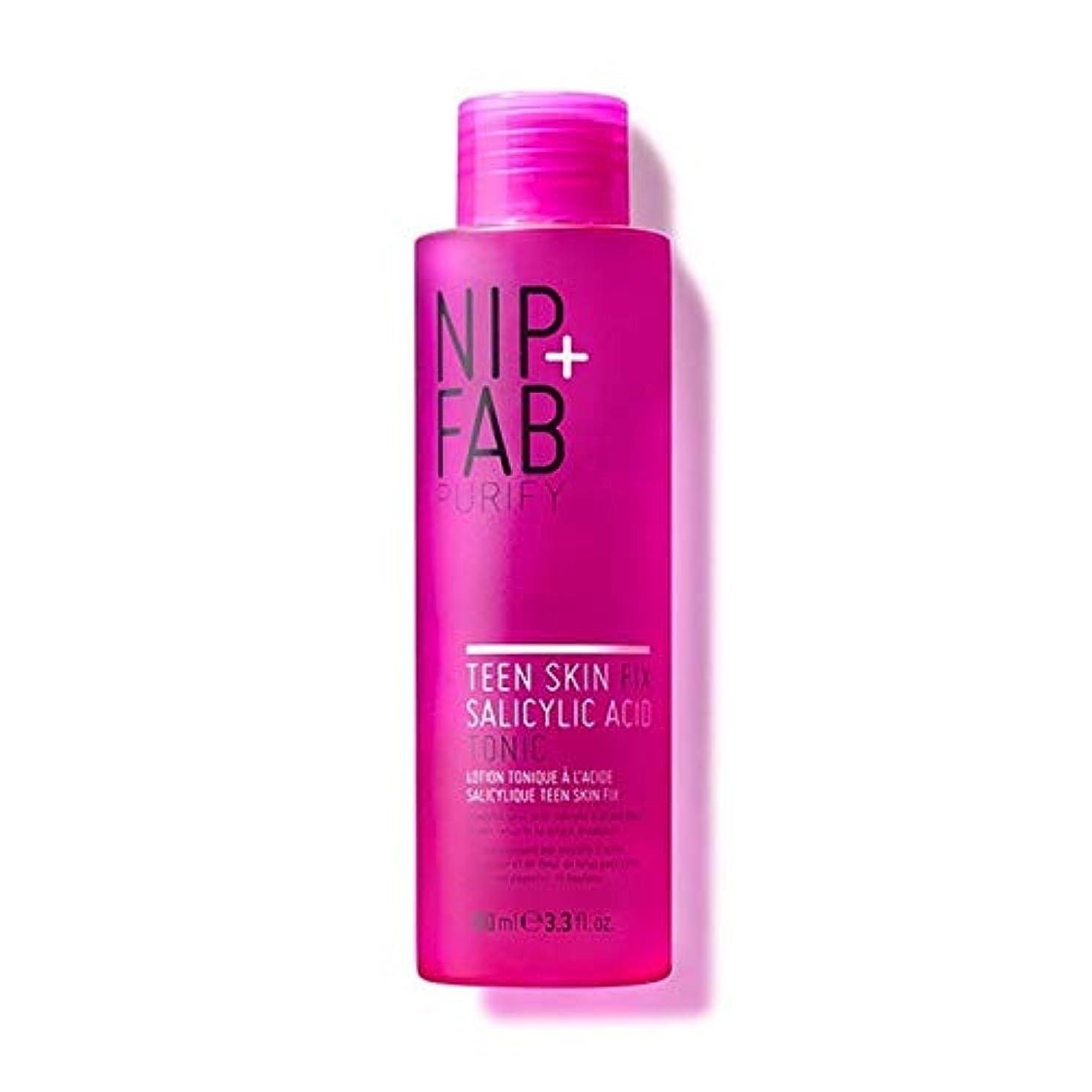 ヒゲ舌な望ましい[Nip & Fab] + Fab十代の肌サリチル酸トニック100ミリリットルニップ - Nip+Fab Teen Skin Salicylic Acid Tonic 100ml [並行輸入品]