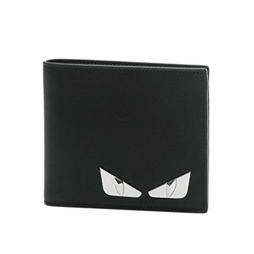 (フェンディ) FENDI 二つ折り財布 ブラック 7M0169 O74 F0GXN [並行輸入品]
