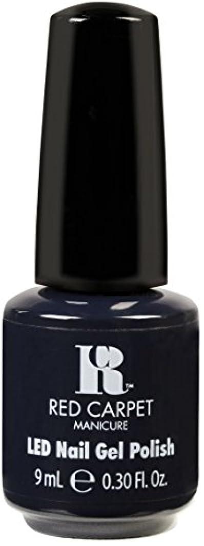 巻き戻す並外れて望むRed Carpet Manicure - LED Nail Gel Polish - Midnight Affair - 0.3oz / 9ml