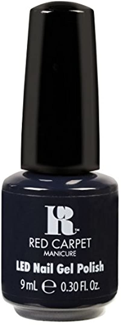 予報荒らすシールドRed Carpet Manicure - LED Nail Gel Polish - Midnight Affair - 0.3oz / 9ml