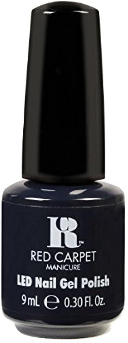 Red Carpet Manicure - LED Nail Gel Polish - Midnight Affair - 0.3oz / 9ml