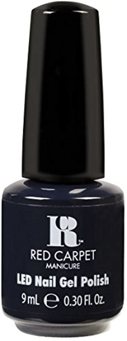 苦い肉眉をひそめるRed Carpet Manicure - LED Nail Gel Polish - Midnight Affair - 0.3oz / 9ml
