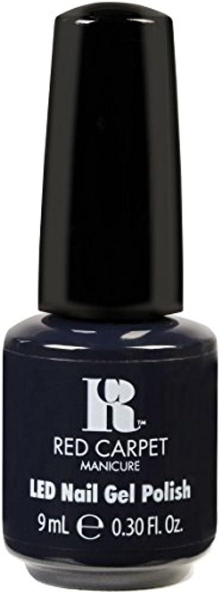 販売計画シュガー議会Red Carpet Manicure - LED Nail Gel Polish - Midnight Affair - 0.3oz / 9ml