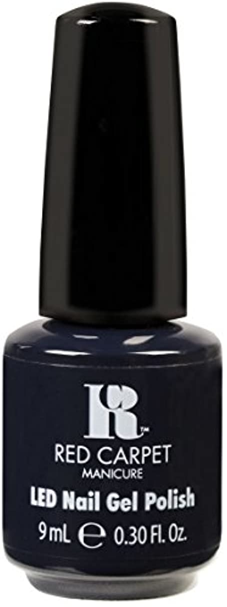 Red Carpet Manicure - LED Nail Gel Polish - Midnight Affair - 0.3oz / 9ml