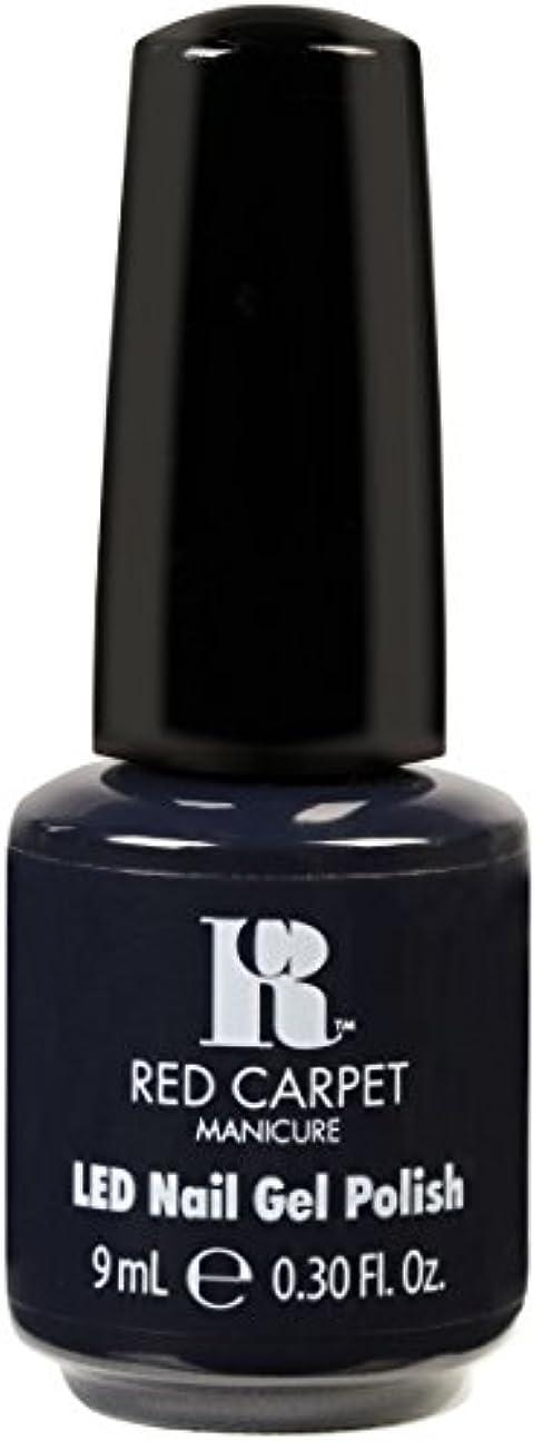 に渡って不誠実エクスタシーRed Carpet Manicure - LED Nail Gel Polish - Midnight Affair - 0.3oz / 9ml
