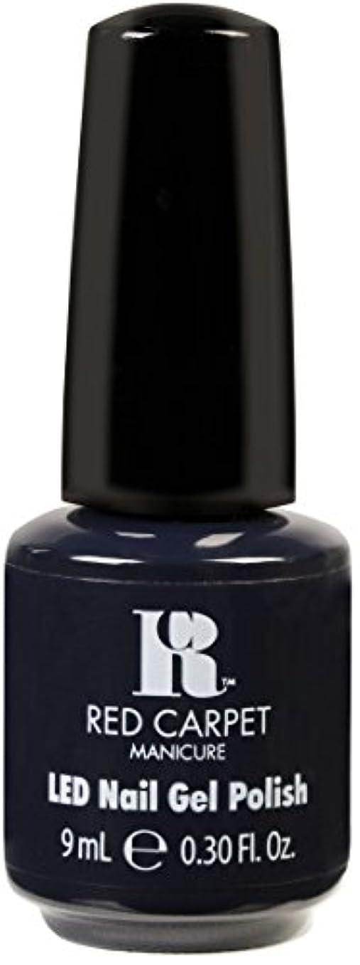 夜明けに白内障毒液Red Carpet Manicure - LED Nail Gel Polish - Midnight Affair - 0.3oz / 9ml