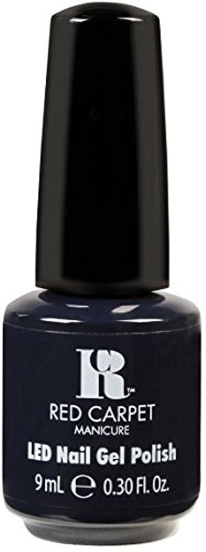 ストレージ誓約ナインへRed Carpet Manicure - LED Nail Gel Polish - Midnight Affair - 0.3oz / 9ml