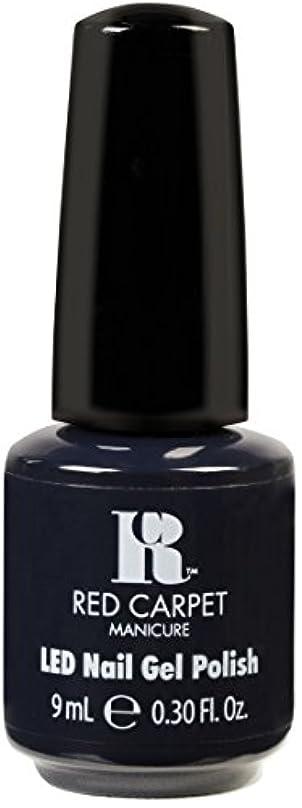 裁判所眠いですマットレスRed Carpet Manicure - LED Nail Gel Polish - Midnight Affair - 0.3oz / 9ml