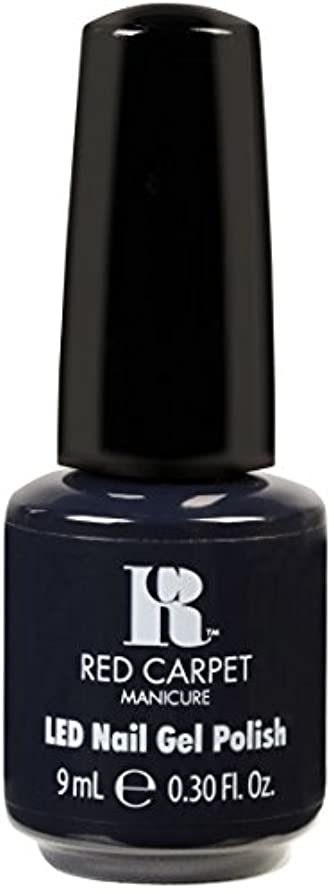 胸おとうさん彼らのものRed Carpet Manicure - LED Nail Gel Polish - Midnight Affair - 0.3oz / 9ml