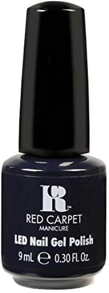 ミサイル圧縮された学習者Red Carpet Manicure - LED Nail Gel Polish - Midnight Affair - 0.3oz / 9ml