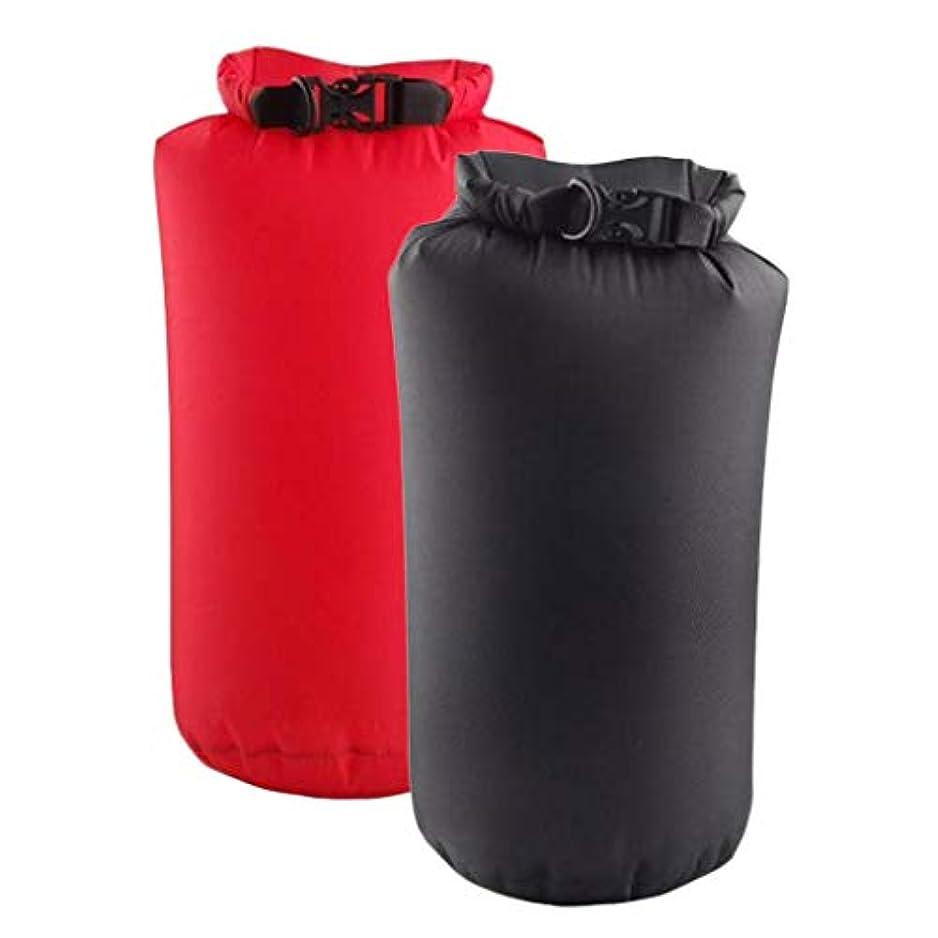 残り水を飲む着飾るSM SunniMix 圧縮バッグ 折りたたみ式 防水バッグ ドライバッグ 荷物バッグ 6L 浮遊 2個入り