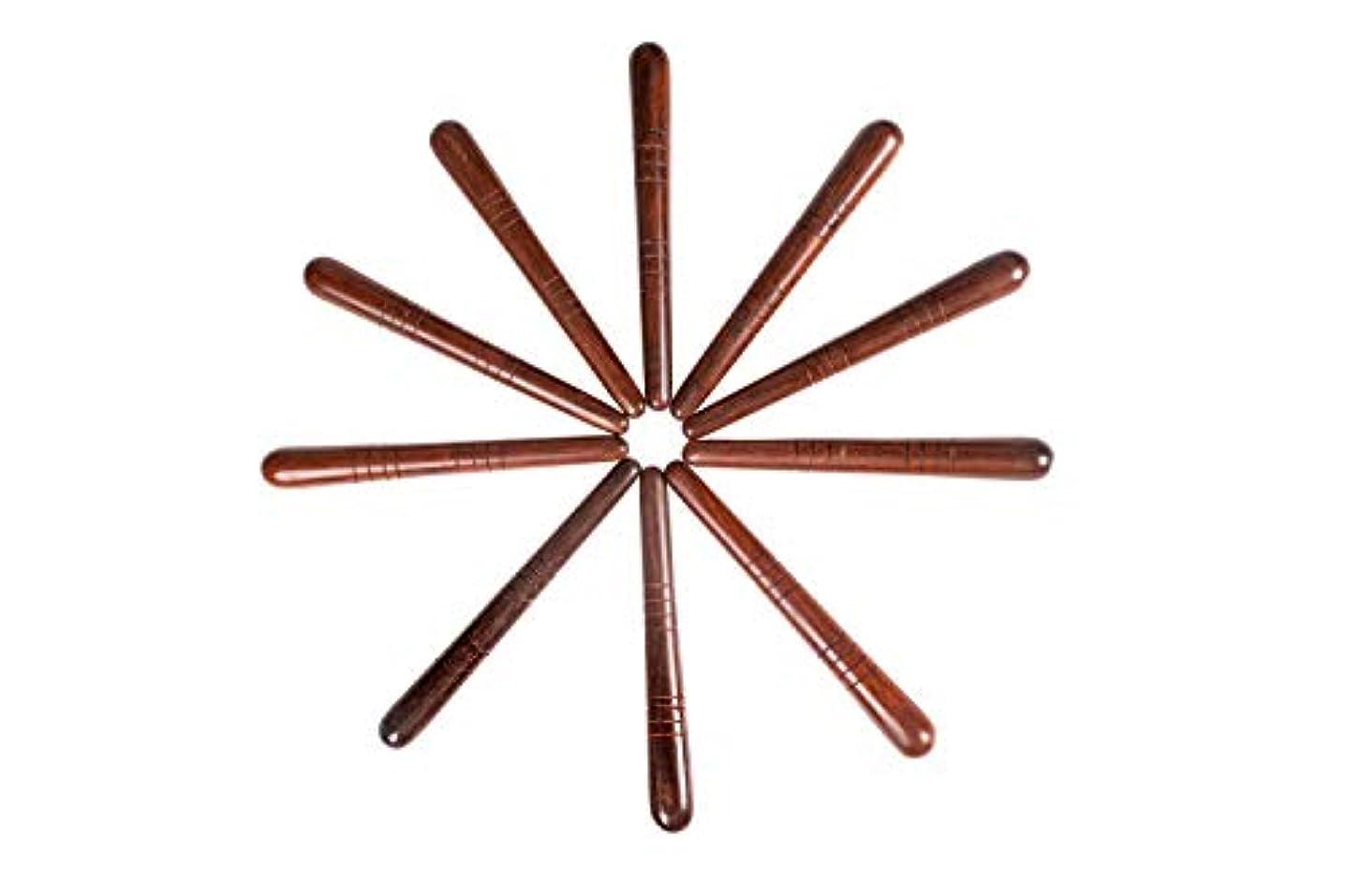 異議デンプシーペースCCcollections 足と手のマッサージ木の棒 (10*A RED Stick)