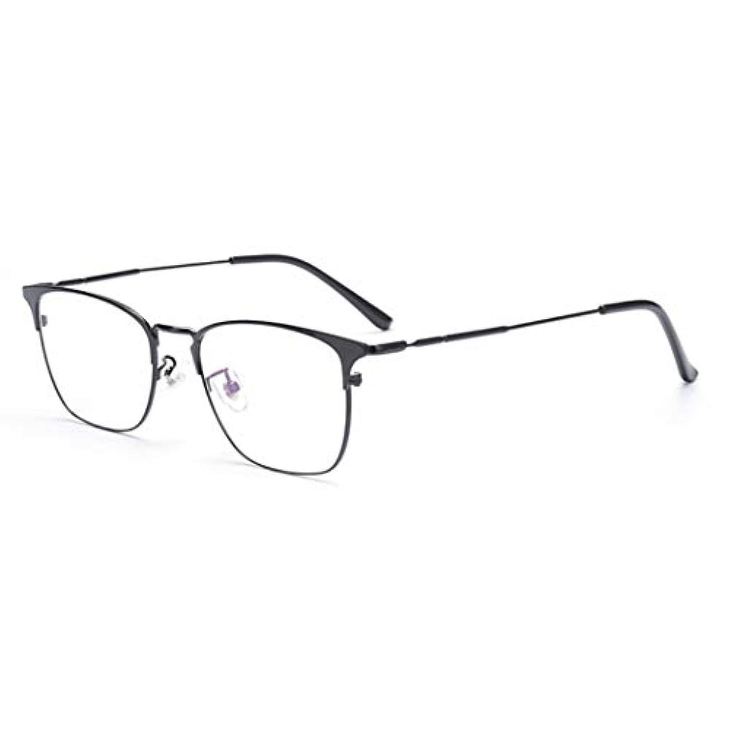 おっと不適当手入れ老眼鏡変色、ブルーライトカットメガネ 視力保護 目の疲れを緩、プログレッシブマルチフォーカス、慰安ファッション品質読者