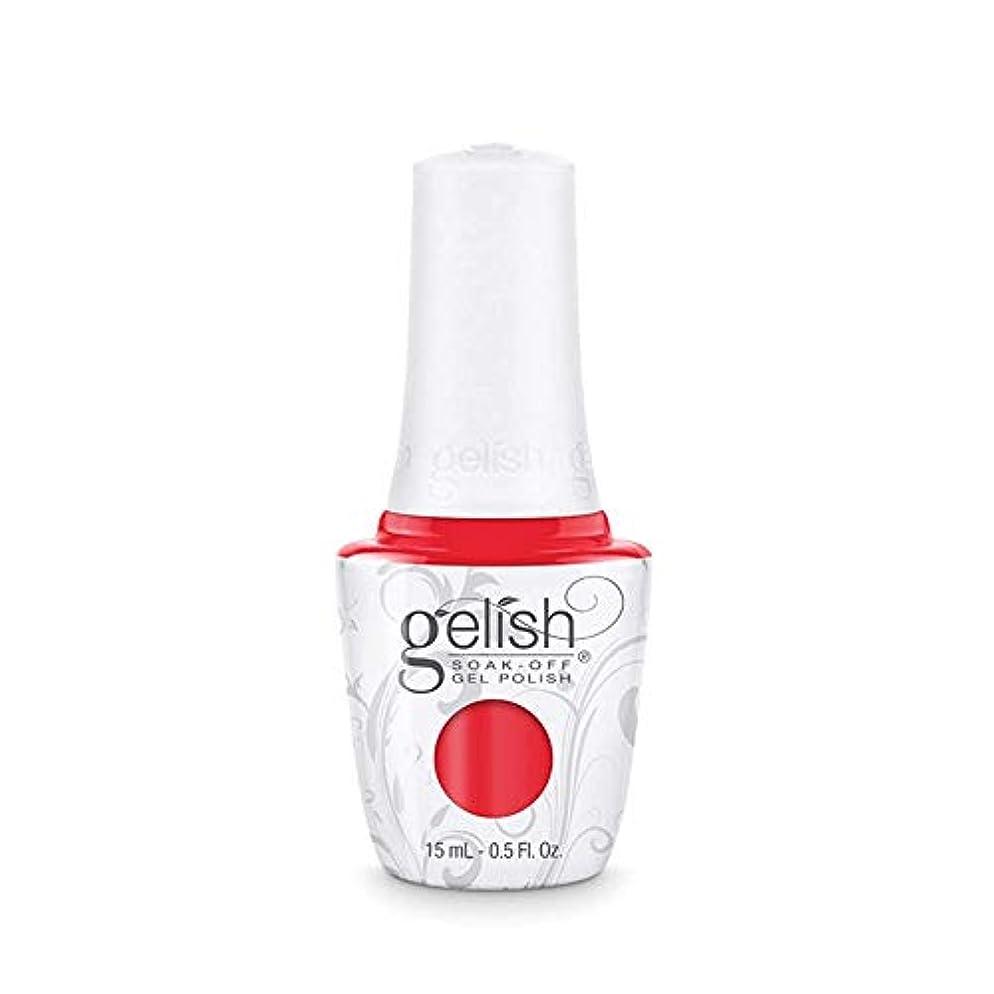 ステッチニコチン賃金Harmony Gelish Gel Polish - Tiger Blossom - 0.5oz / 15ml