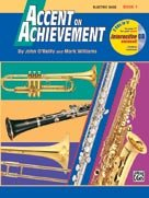 Alfred Publishing 00-17096 Accent on Achievement Book 1 - Music Book