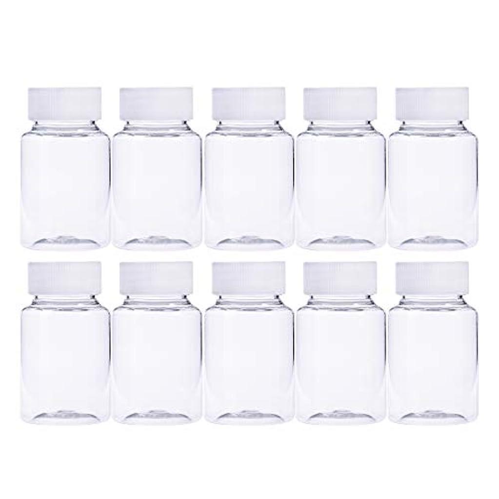 驚いた変化する署名Frcolor 12個 80ml 小分けボトル 広口 クリア 詰め替え容器 薬保存 ビーズ収納 液体 化学薬品収納ボトル 化粧小分け容器 プラスチック容器