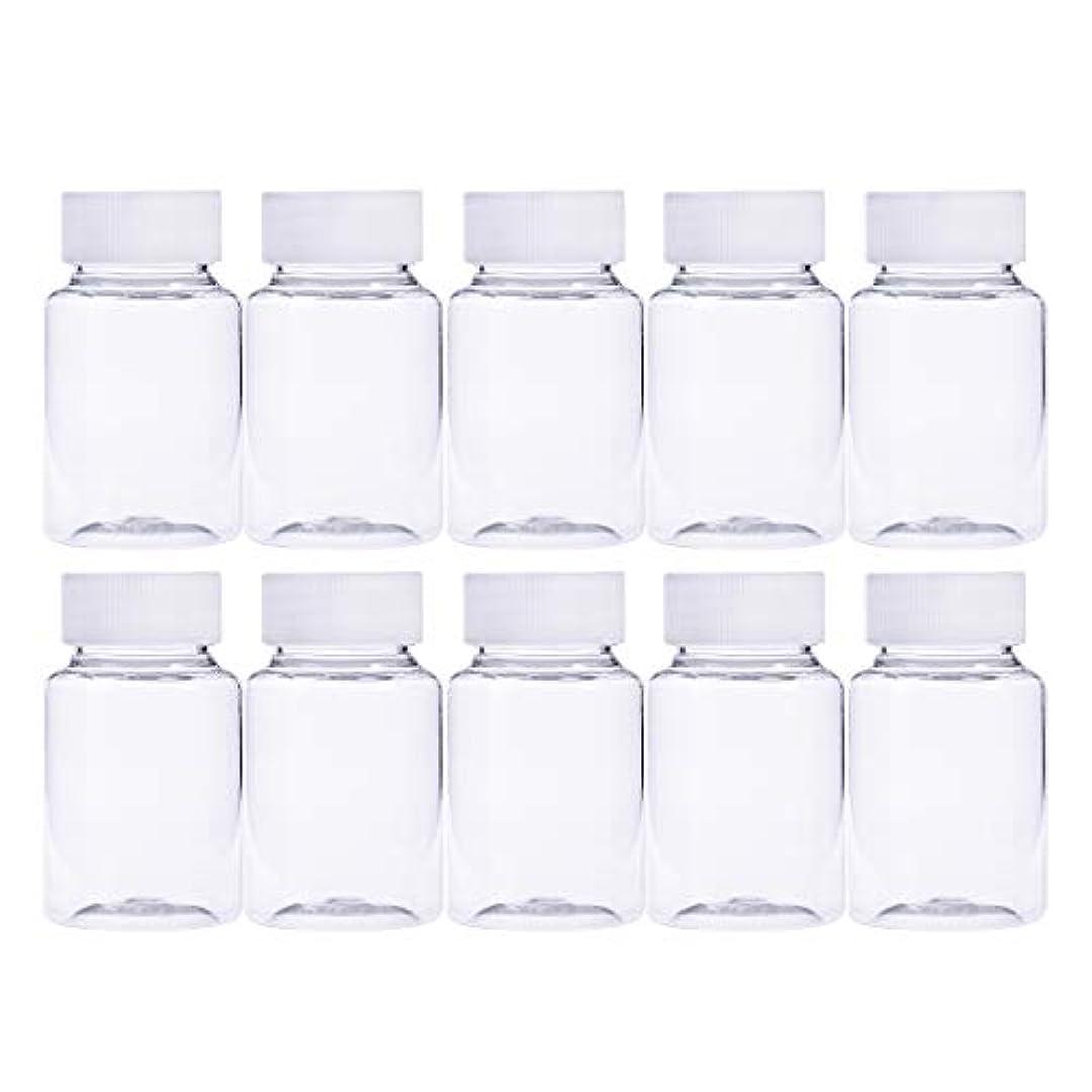 訴える再撮りブレークFrcolor 12個 80ml 小分けボトル 広口 クリア 詰め替え容器 薬保存 ビーズ収納 液体 化学薬品収納ボトル 化粧小分け容器 プラスチック容器