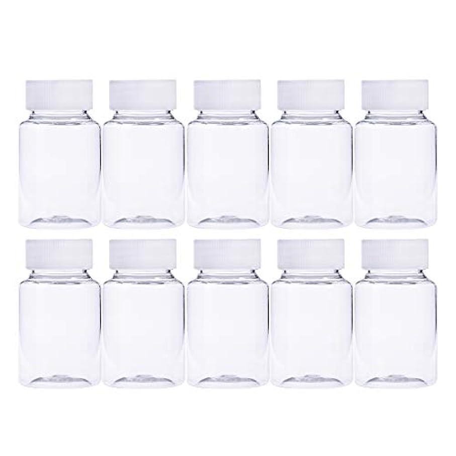 ファイナンス絞る原点Frcolor 12個 80ml 小分けボトル 広口 クリア 詰め替え容器 薬保存 ビーズ収納 液体 化学薬品収納ボトル 化粧小分け容器 プラスチック容器