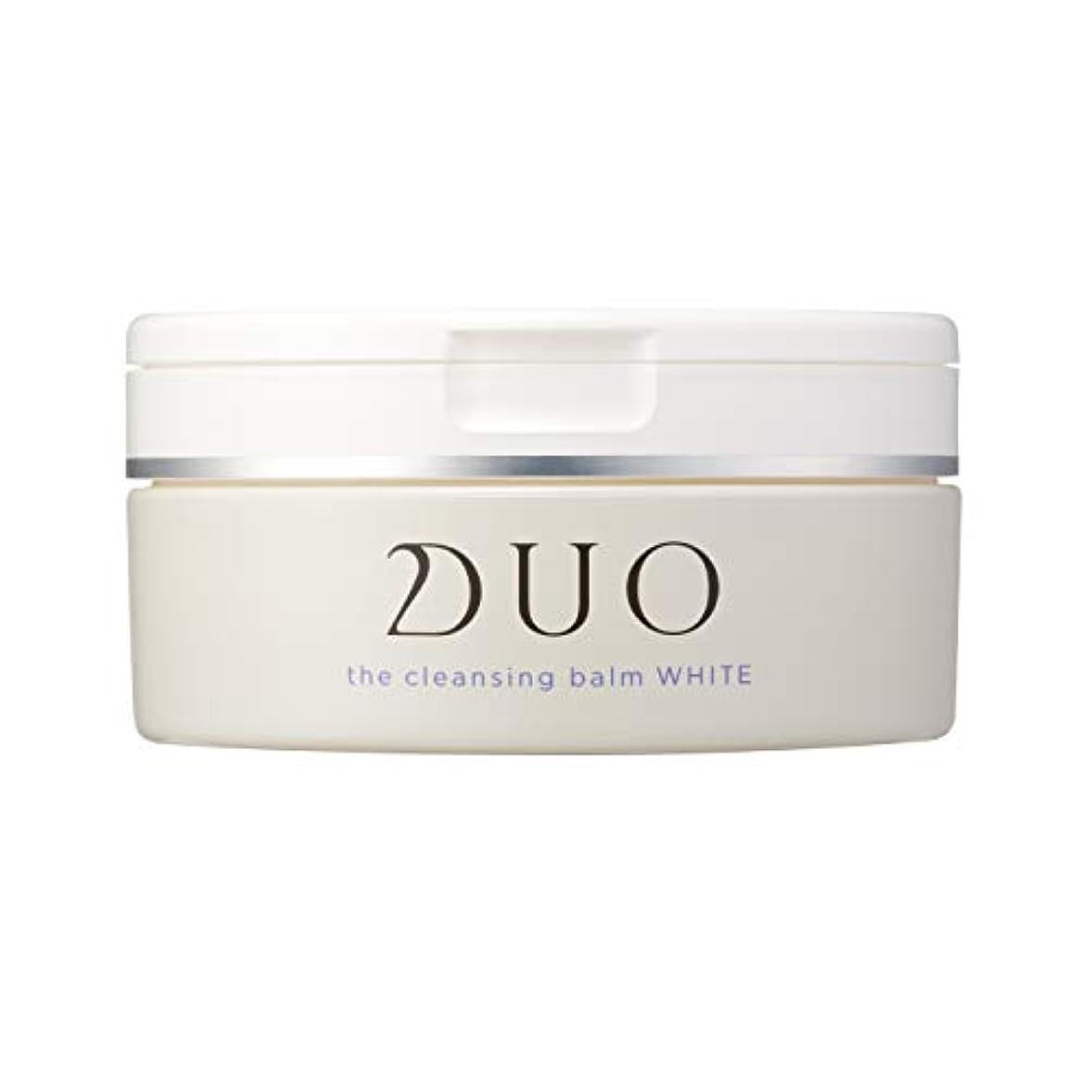 発揮する慢性的経由でDUO(デュオ) ザ クレンジングバーム ホワイト 90g