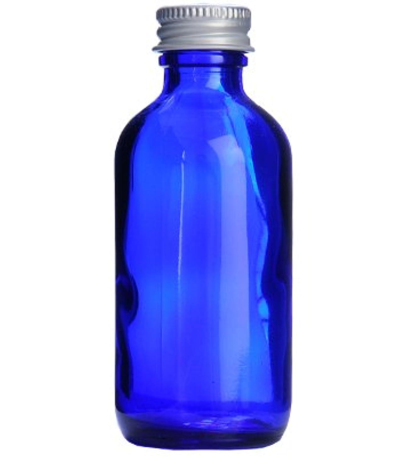 案件比率文化コバルトガラスボトル?アルミキャップ[60ml]/1個