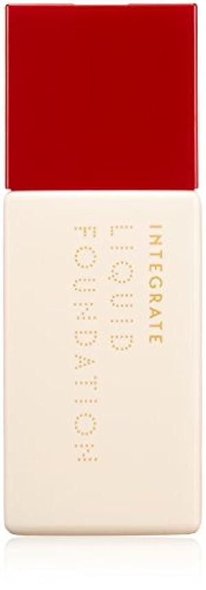 メタルライン服ひいきにするインテグレート リアルフィットリキッド オークル10 やや明るめの肌色 (SPF30?PA++) 30mL