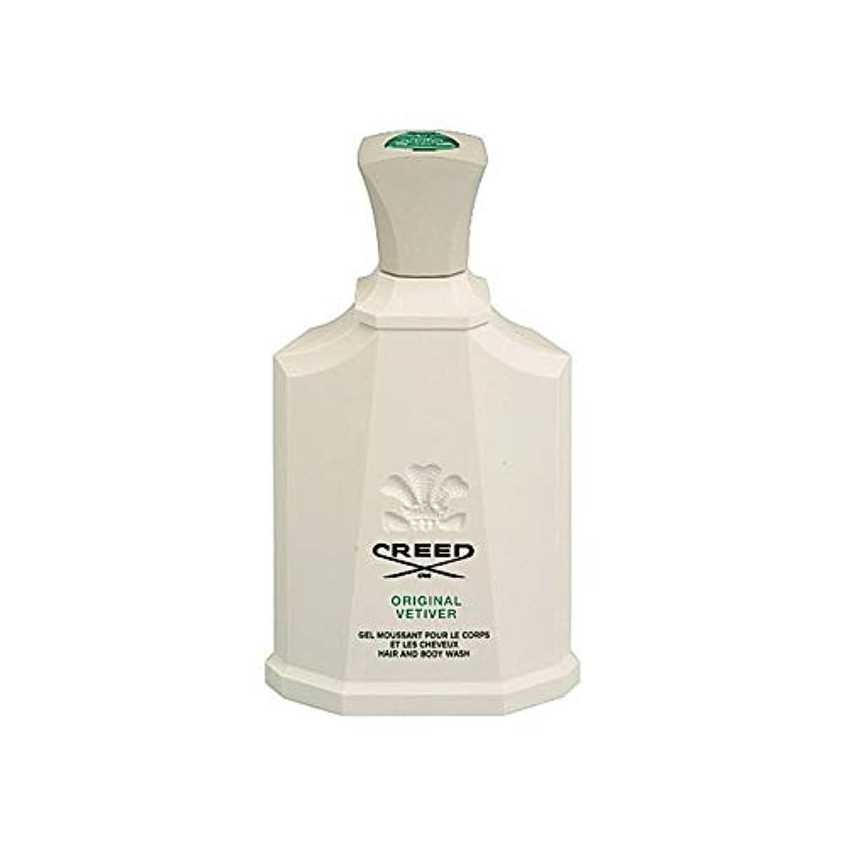 同化する回復するアブストラクト[Creed ] 信条オリジナルベチバーボディウォッシュ200ミリリットル - Creed Original Vetiver Body Wash 200ml [並行輸入品]
