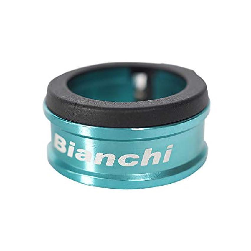 考古学者不承認暖かさBianchi(ビアンキ) シートクランプ B 31.8mm アナダイズド チェレステ JPP0118013ACK02