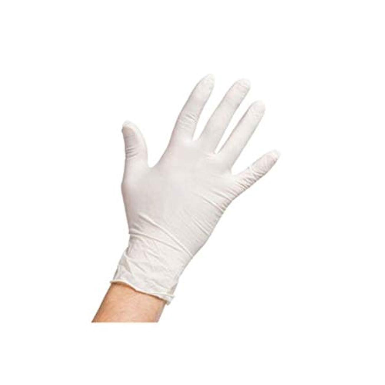 スローガン鷹パプアニューギニア(A1ラテックス) 最高品質のLatex手袋 ニトリル手袋 パウダーフリー 無粉末 200枚(6g Latex、4g Nitrile)【海外配送商品】【並行輸入品】 (S)