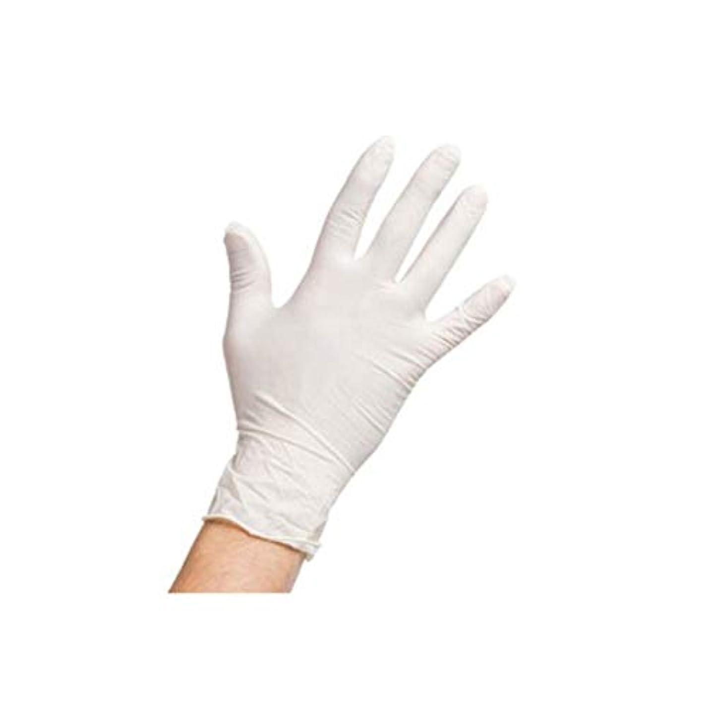 スポーツの試合を担当している人親密な大使館(A1ラテックス) 最高品質のLatex手袋 ニトリル手袋 パウダーフリー 無粉末 200枚(6g Latex、4g Nitrile)【海外配送商品】【並行輸入品】 (S)