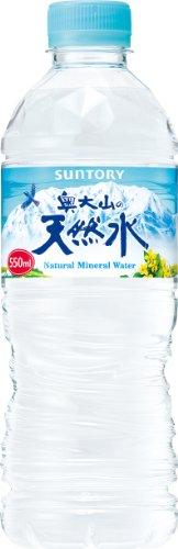 サントリー 奥大山の天然水 550ml×24本 ナチュラルミネラルウォーター