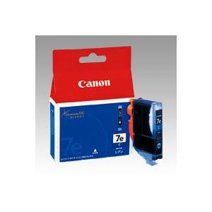 (業務用セット) キヤノン Canon インクジェットカートリッジ BCI-7eC シアン 1個入 【×3セット】 [簡易パッケージ品]