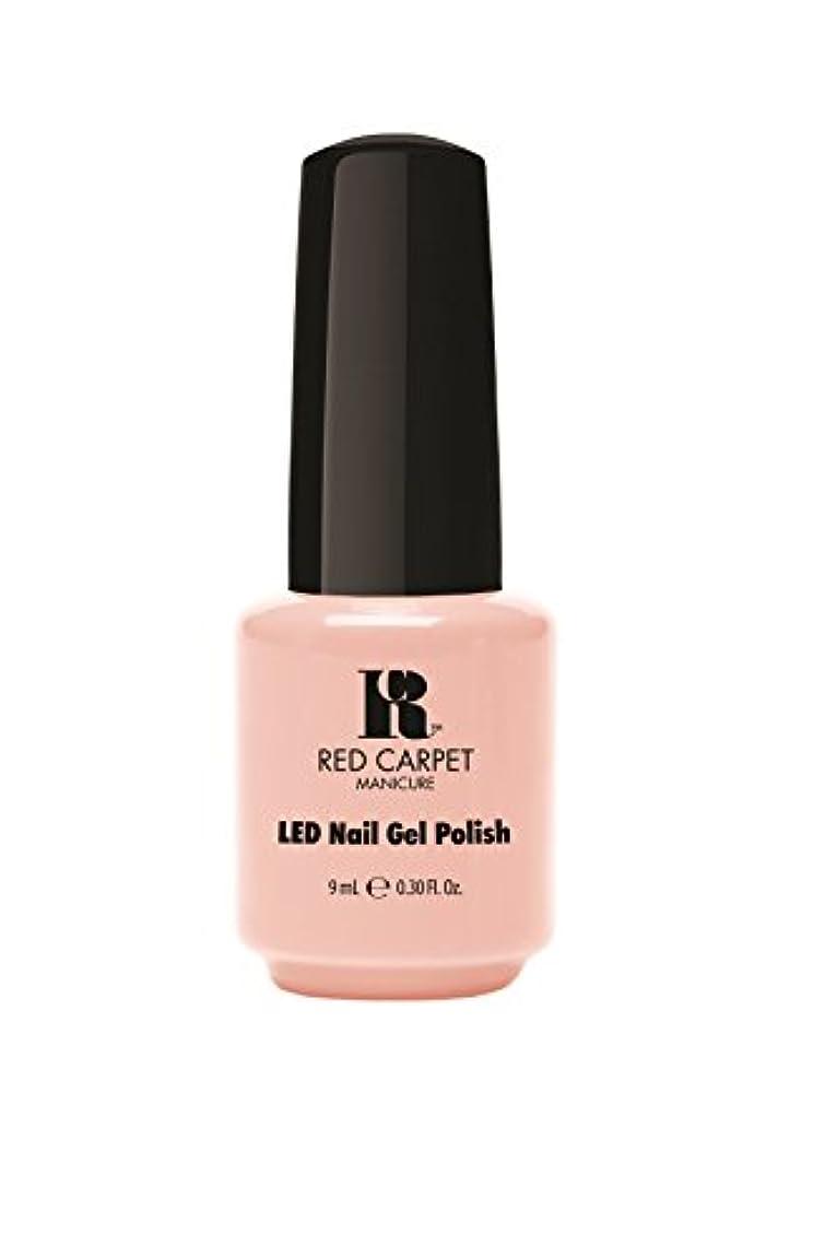 種柔らかい足宴会Red Carpet Manicure - LED Nail Gel Polish - Timeless Beauty - 0.3oz/9ml