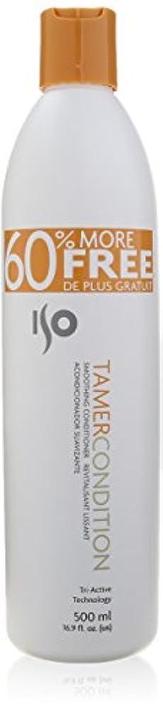 ヒゲ錫ケーブルカーIso Hair ISOテイマー条件スムージングコンディショナー、16.9オンス 16.9オンス