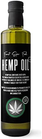 Forest Super Foods 100% Unfiltered Tasmanian Hemp Oil Cold Pressed 250ml Great for pain Inflammation &
