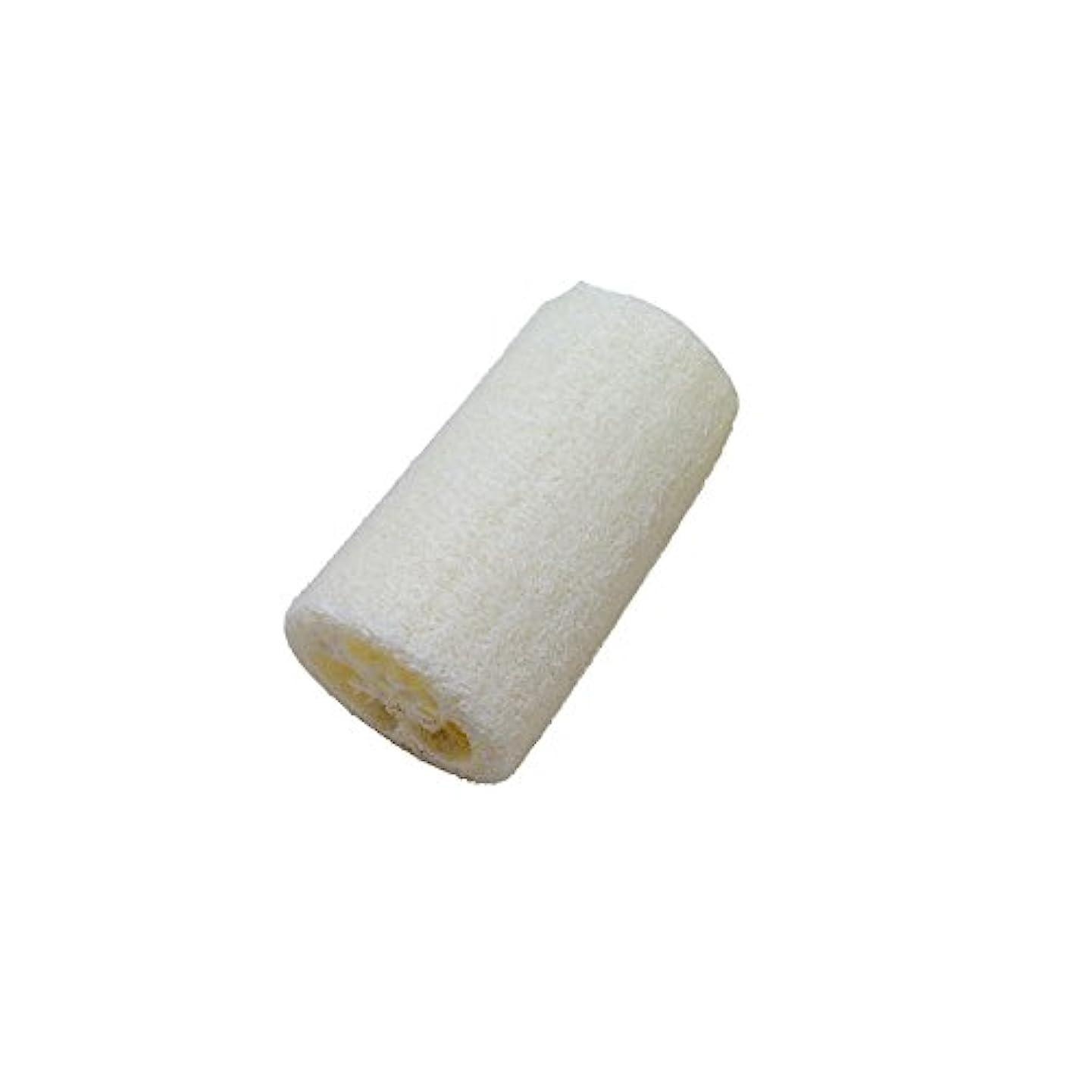 天然ヘチマ ボディスポンジ シャワースポンジ ボディブラシ シャワーブラシ 入浴 風呂スポンジ 角質海綿 全身美容 新陳代謝を促進 角質除去 マッサージ SPA ルーファ ボディウォッシュボール (7.5cm)